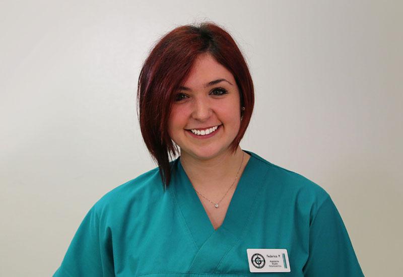 Pianezzola Federica , Assistente studio odontoiatrico